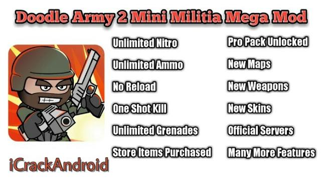mini militia mod apk unlimited ammo and nitro download 2019